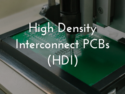 high density interconnect pcbs